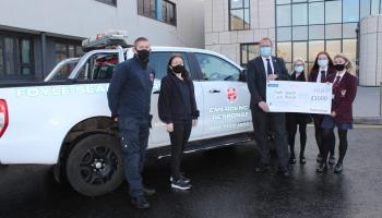 Generous Derry students share their winnings with a lifesaving local charity